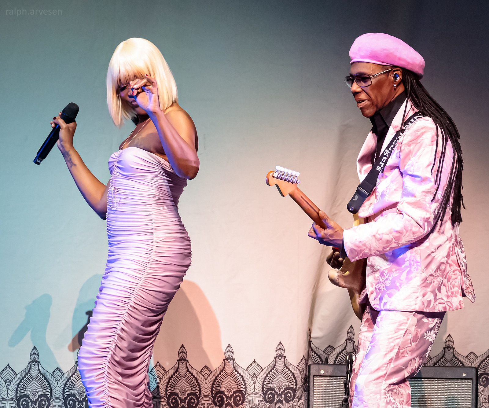 Nile Rodgers & CHIC | Texas Review | Ralph Arvesen