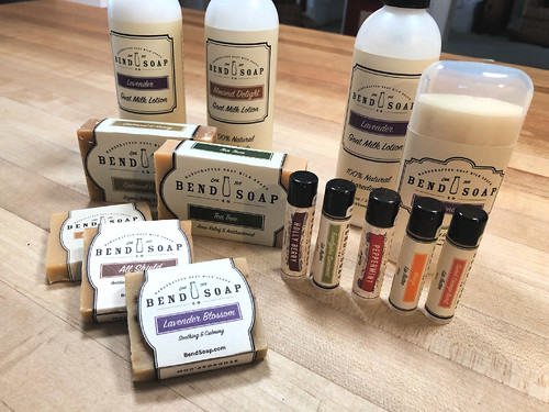 all-natural products from bed soap