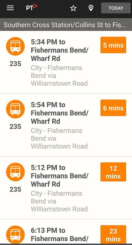 Bus delays Thursday 5:43pm