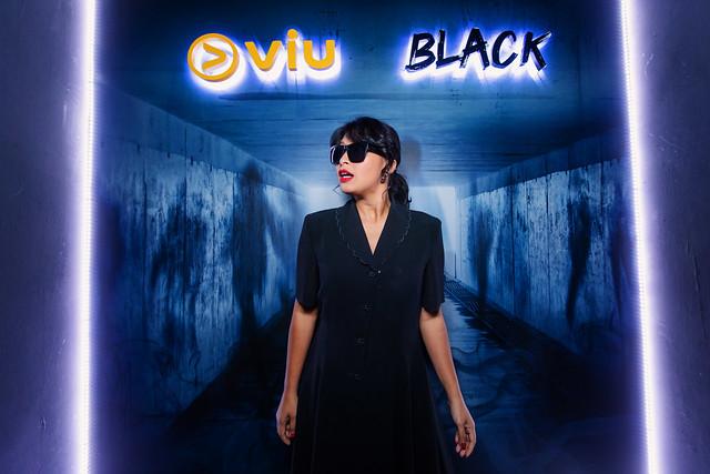 Nabila Huda Enjoyed The Black Box At The Premiere Of Viu Original _ Black
