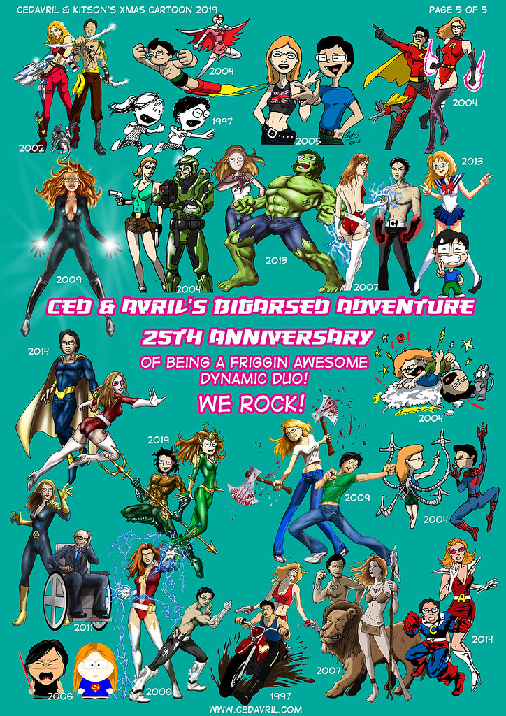 Ced & Avril's Bigarsed Adventure – The 25th Anniversary
