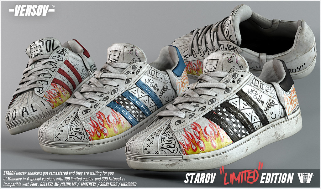 [ Versov // ] STAROV LIMITED EDITION sneakers available at MAN CAVE