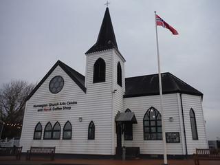 Norwegian Church Arts Centre, Cardiff Bay SWC Short Walk 30 - Cardiff Bay (Wales Coast Path) [Cardiff Bay Trail Option]