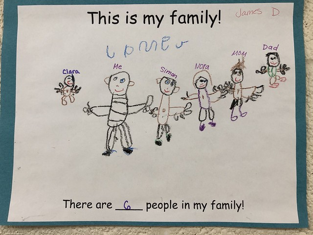 james drawing of our family