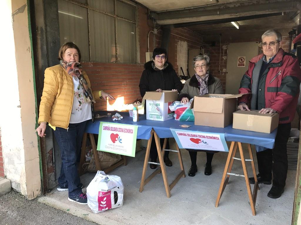 Solidaridad Cocina Económica en Navidad