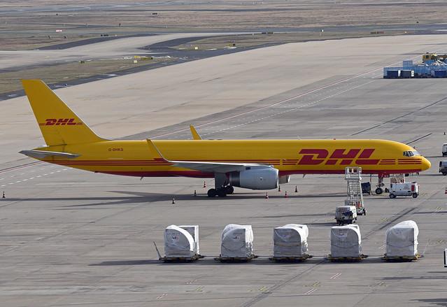 DHL (DHL Air) Boeing 757-223(PCF)(WL) G-DHKS