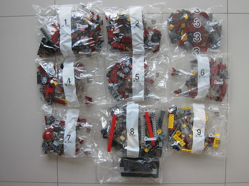 LEGO The Hulkbuster: Ultron Edition 76105 - 9 + 1 Packs