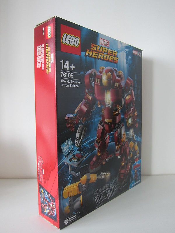 LEGO The Hulkbuster: Ultron Edition 76105 - Box