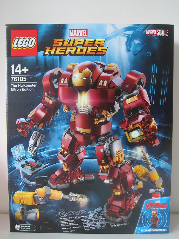 LEGO The Hulkbuster: Ultron Edition 76105 - Box Front