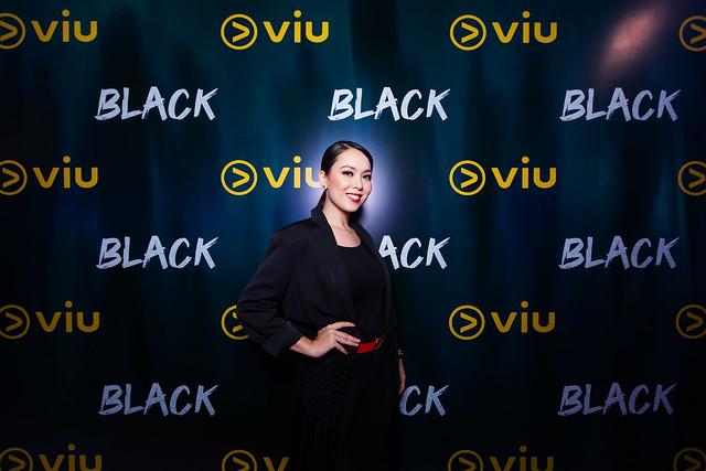 Siti Saleha With All Smiles At The Viu Original _ Black Premiere