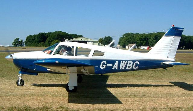 G-AWBC   Piper PA-28R-180 Cherokee Arrow [28R-30572] Kemble~G 13/07/2003