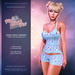 Jenna Xmas Jammies @ Fly Buy Friday