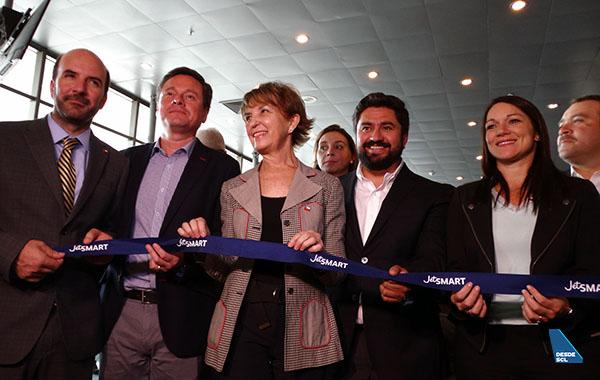 JetSMART inauguración ruta CCP-LIM autoridades (RD)
