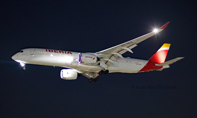 EC-NCX - Airbus A350-941 - LHR