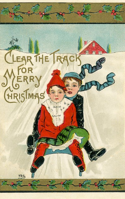 Clear the Track for Merry Christmas!