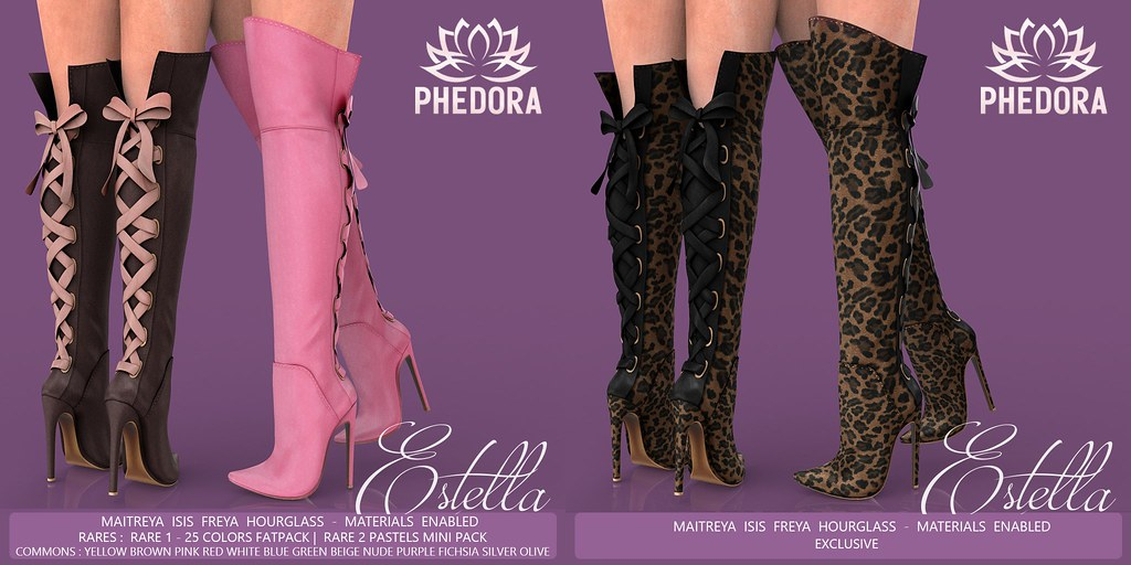 "Phedora for The Epiphany ~ ""Estella"" Boots Gacha ♥"