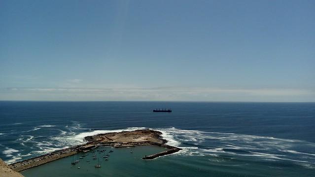 Ex isla del alacrán, Aricar. Chile.
