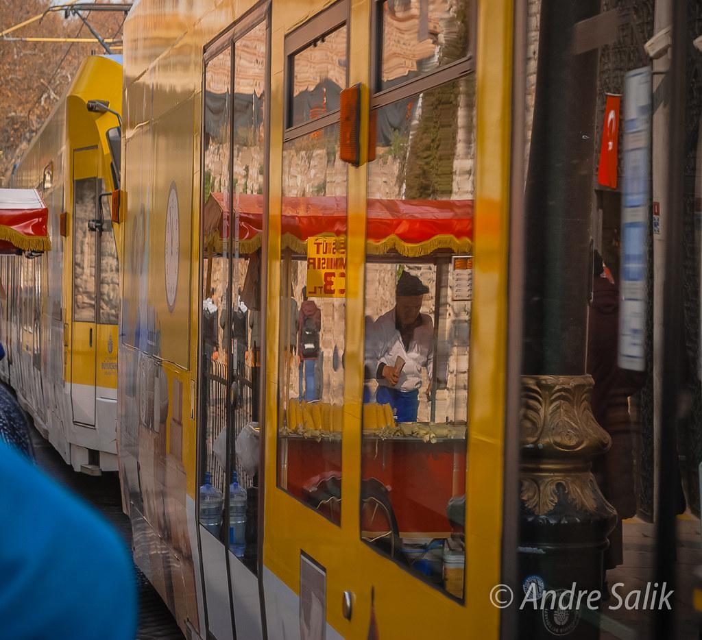 В трамвайчике отражение! DSC_4079