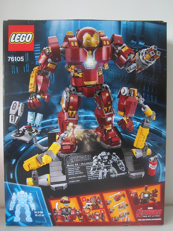LEGO The Hulkbuster: Ultron Edition 76105 - Box Back