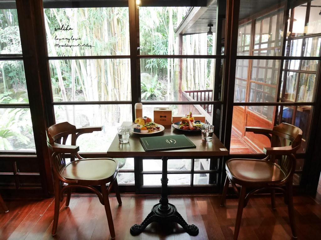 台北陽明山咖啡廳下午茶早午餐廳豆留森林cama cafe旗艦店 (4)