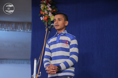 Yash Ji presented geet, Lucknow UP