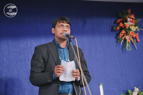 Vikas Shankar Ji recited a Hindi Kavita, Lucknow UP