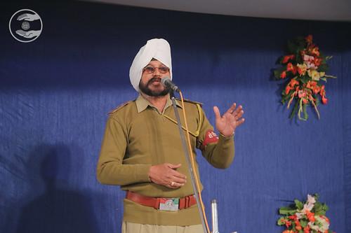 Sukhdev Singh Ji recited a poem, Allahabad UP