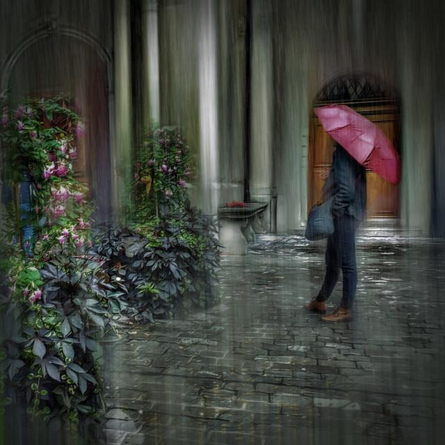 Raining in Lucerne