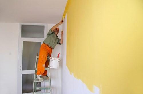 cách tính m2 sơn nhà
