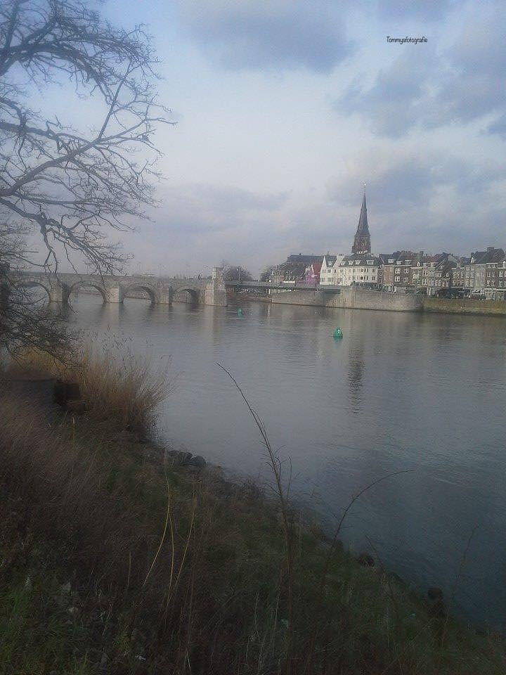 View to the st. Servaasbridge in Maastricht
