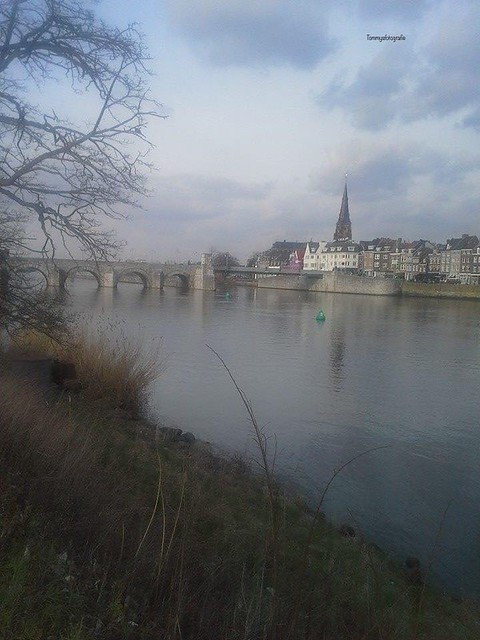 View to the st. Servaasbridge in Maastricht