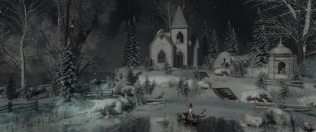 When snow falls, nature listens