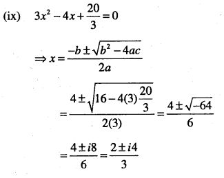 1st PUC Maths Question Bank Chapter 5 Complex Numbers and Quadratic Equations 49