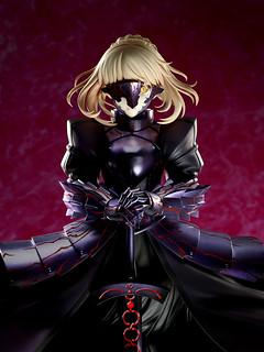 遭暗影吞沒的無情暴君 Aniplex+限定《劇場版Fate/stay night [Heaven's Feel]》Saber/阿爾托莉亞·潘德拉剛[Alter] (セイバーオルタ)1/7比例模型