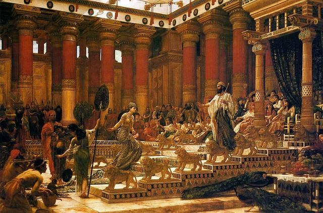 Визит царицы Савской к царю Соломону. Джон Пойнтер