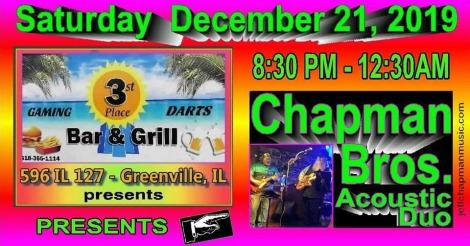 Chapman Bros 12-21-19