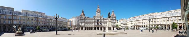 La Coruña Praza de María Pita