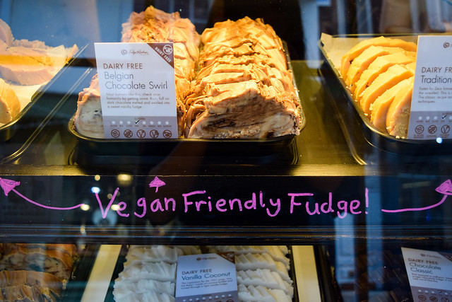 Vegan Friendly Fudge at The Fudge Kitchen, Canterbury
