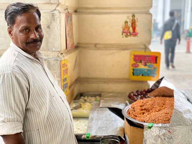 City Food - Mr Gupta's Carrot Halwa, M Block, Connaught Place