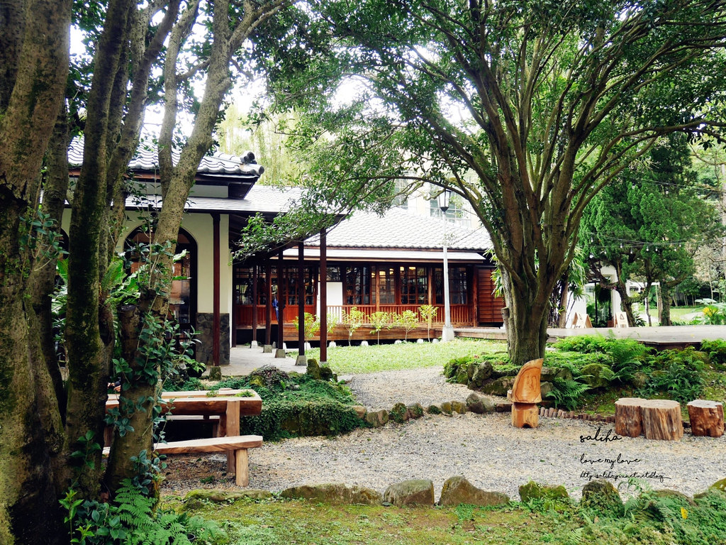 台北庭園咖啡廳餐廳陽明山豆留森林 cama下午茶咖啡餐點推薦 (3)