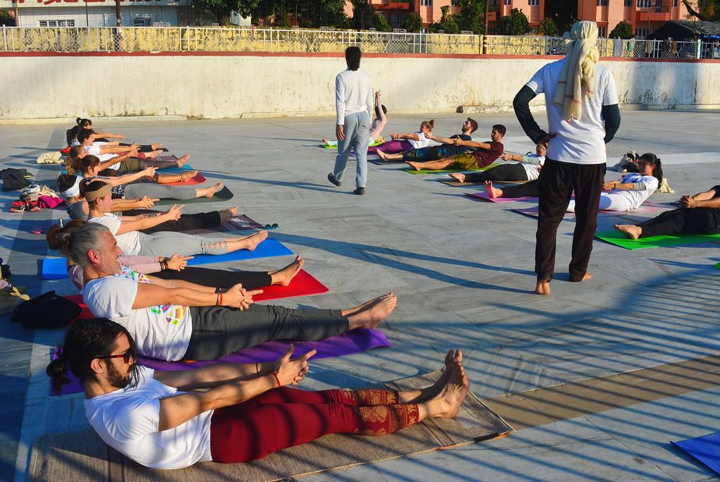 Yoga Teacher Training Course In Rishikesh India Om Shanti Flickr