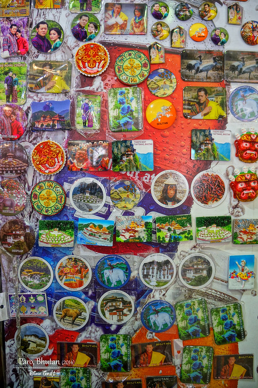 Bhutan Fridge Magnets