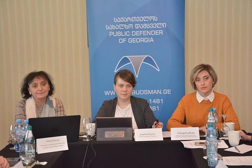 შშმ პირთა უფლებების კონვენციის საკონსულტაციო საბჭოს სხდომა / 20.12.2019 /Meeting of the Consultative Council of the Convention on the Rights of Persons with Disabilities