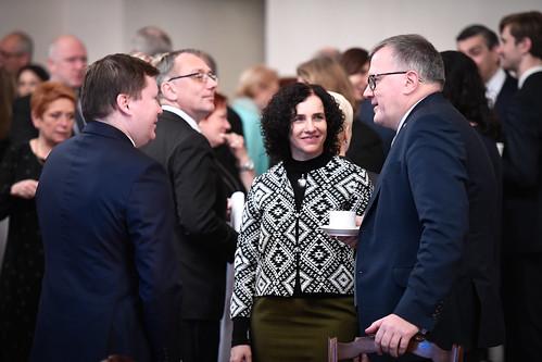 """20.12.2019. Valsts prezidents Egils Levits piedalās diskusiju ciklā """"Augstākās izglītības pārvaldība: drosme mainīties"""""""