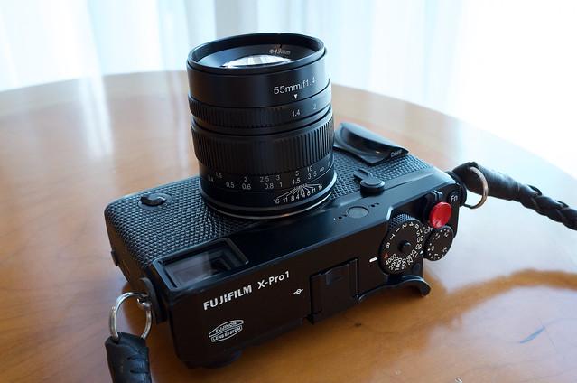 7Artisans 55mm/f1.4 Lens