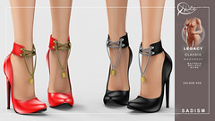 : CULT : Sadism Heels with HUD