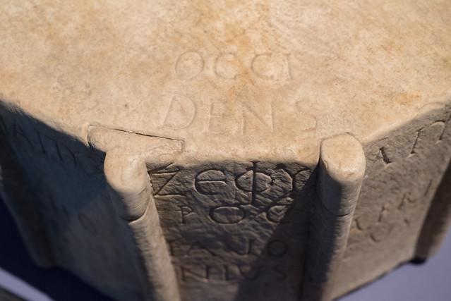 Roman anemoscope (windrose)