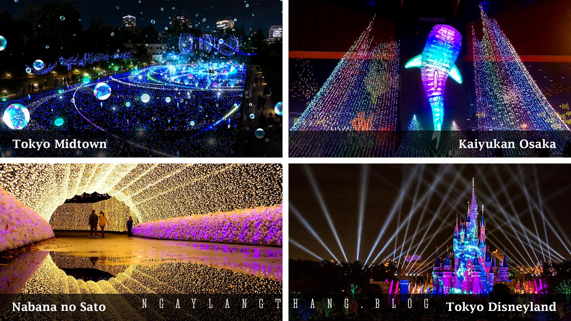 Nhật Bản tuần cuối năm-Illumination-ngaylangthang