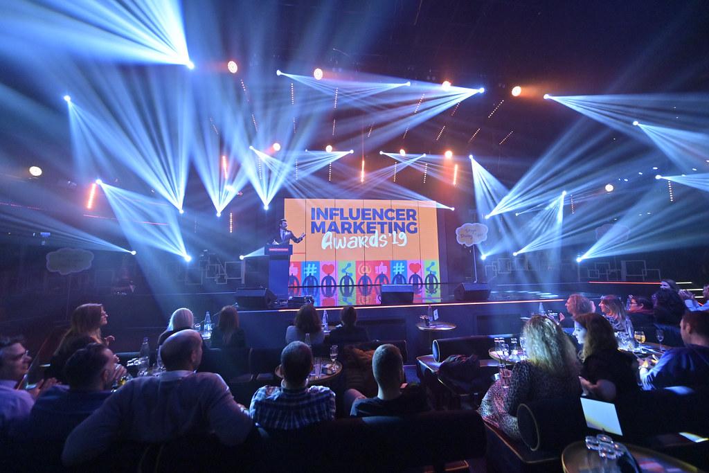 Influencer Marketing Awards '19 ceremony