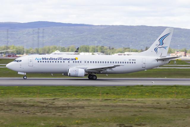 SX-MAH Air Mediterranean Boeing 737-405 cn:24643 / 1860